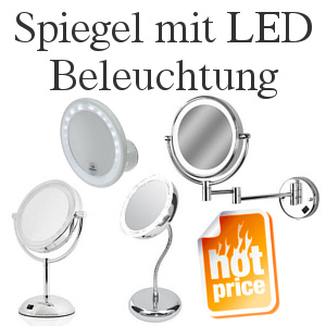 spiegel mit led beleuchtung. Black Bedroom Furniture Sets. Home Design Ideas
