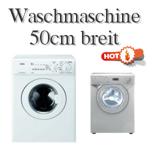 Häufig Waschmaschine 50 cm breit - 5 Modelle VZ64